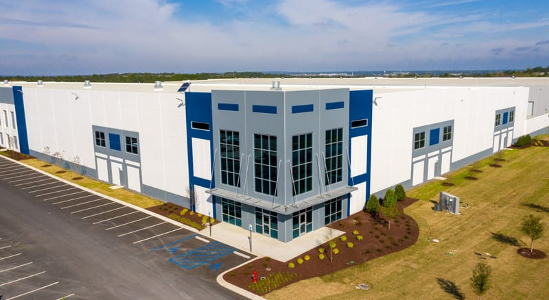 Midway IV Completion in Lexington County Industrial Park